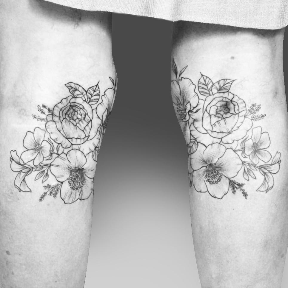 Flowers Folk Tattoo and Piercing Studio Stellenbosch Artist Megan